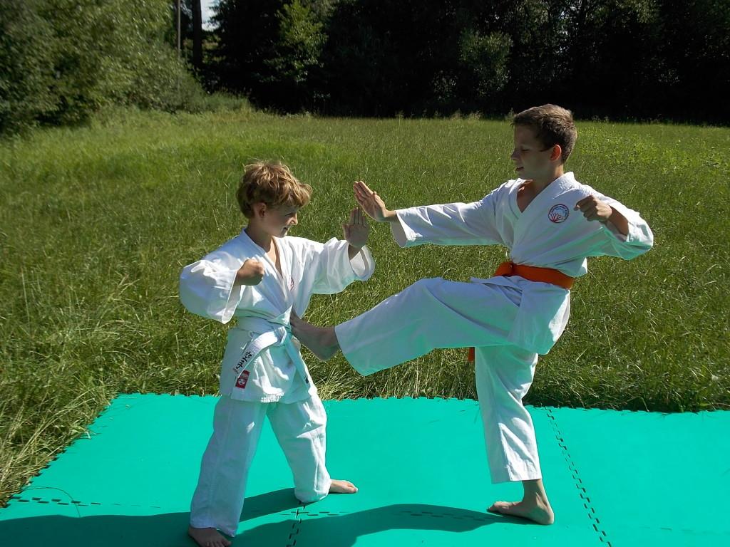 Souboj dětí - Karate Vysoké Mýto